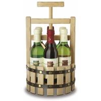 Vierteles-Presse mit 6/0,25 Fl. Heilbronner Weinen Wein-Presse