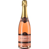 """La Chablisienne Cremant de Bourgogne Rosé Brut """"Paul Delane"""