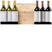 """Selezione """"La Botte di Gianni"""" Trebbiano d'Abruzzo Riserva DOC Montepulciano d'Abruzzo DOC 6 (2 mal 3) Flaschen in Original-Holzkiste"""