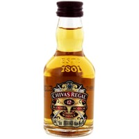 Chivas Regal 12 Years Old Whisky Miniatures 50 ml