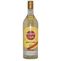 Havana Club Anejo 3 Years Old Rum 1,0L