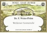 2003 Dr.F.Weins-Pruem Wehlener Sonn. Ries. Auslese Gold Cap 375ml