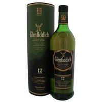 Glenfiddich 12 Years Old Malt Whisky 1 Liter Gift box