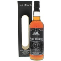 Poit Dhubh 21 Years Old Malt Whisky 700ml Gift box