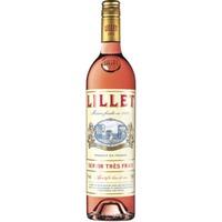 Lillet Rose - Aperitif de France - 0,750L 0,75L