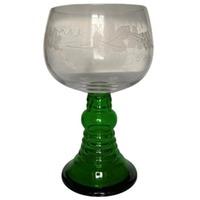 großer Wein-Römer Wein-Pokal mit Schliff 1 Liter