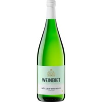 Müller-Thurgau/Riesling QbA mild WG Weinbiet, Pfalz