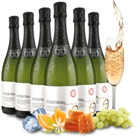 Probierpaket 6 Flaschen Cava Cossetània Brut Reserva   Spanien