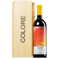 """""""Colore"""" Rosso Toscana IGT in Original-Holzkiste"""