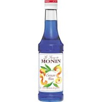 Monin Blue Curacao Sirup - 1+8 - 0,250L U