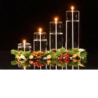Firelight Pillar Candle small