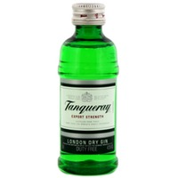 Tanqueray Dry Gin Miniatures 50ml P