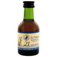 El Dorado Rum 21 Years Old Miniatures 50ml