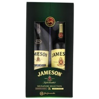 Jameson Irish Whiskey Pack Signature & Original 2x500ml Gift Box