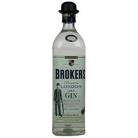 Brokers Premium Dry Gin 700ml