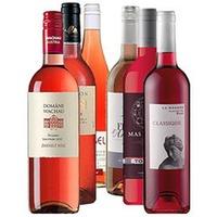 Paket mit 18 Flaschen Rosé - Weltweit -