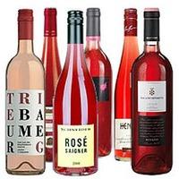 Paket mit 12 Flaschen Rose / 6 x 2 Flaschen